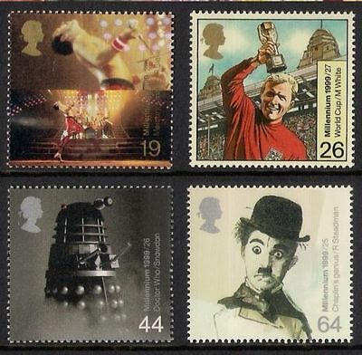 GB MNH STAMP SET 1999 Entertainers' Tale SG 2092-2095 UMM