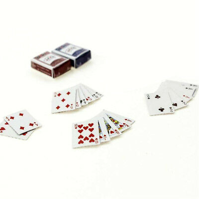 1pc Games Poker Playing Cards Miniature Dollhouse Accessory For Re-ment Figure