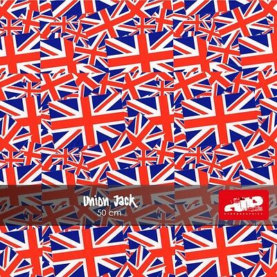Union Jack Hydrographics Film - Check Shipping Details