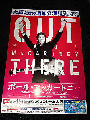 Paul McCartney 2013 Japan FLYER OUT THERE tour concert & LET IT BE Musical promo