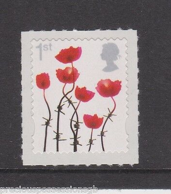 Gb Mnh Stamp 2012 Lest We Forget Sg 3414 Poppies Poppy S/a Umm