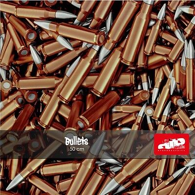 Bullets Hydrographics Film - Check Shipping Details
