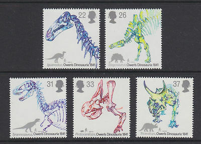 GB MNH STAMP SET 1991 Dinosaurs SG 1573-1577 10% OFF FOR ANY 5+