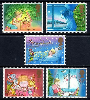 GB MNH STAMP SET 1987 Christmas SG 1375-1379 UMM
