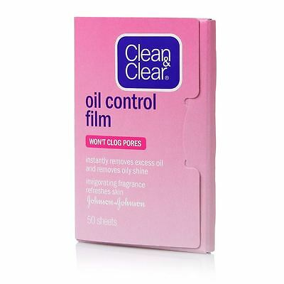 Clean and Clear Oil Control Film Blotting Paper (Pink)