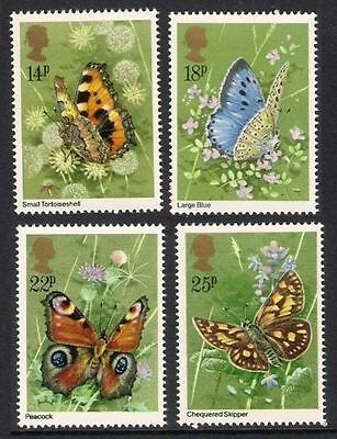 GB MNH STAMP SET 1981 Butterflies SG 1151-1154 10% OFF FOR ANY 5+