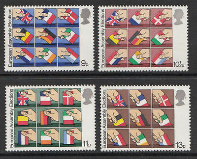 GB MNH STAMP SET 1979 European Assembly Elections SG 1083-1086 10% OFF FOR ANY 5