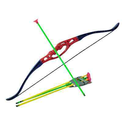 Childrens Kids Archery Bow And Arrow Set Outdoor Garden Toy Game Christmas Gift