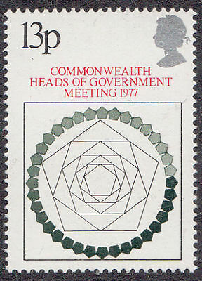 GB MNH STAMP SET 1977 Commonwealth Heads of Government SG 1038 UMM