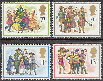 GB MNH STAMP SET 1978 Christmas Carol Singers SG 1071-1074 10% OFF FOR ANY 5+