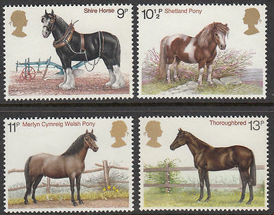 GB MNH STAMP SET 1978 Horses SG 1063-1066 10% OFF FOR ANY 5+