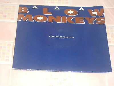 The Blow Monkeys Some Kind Of Wonderful / Sweet Obsession / Huckleberry Vg (12')