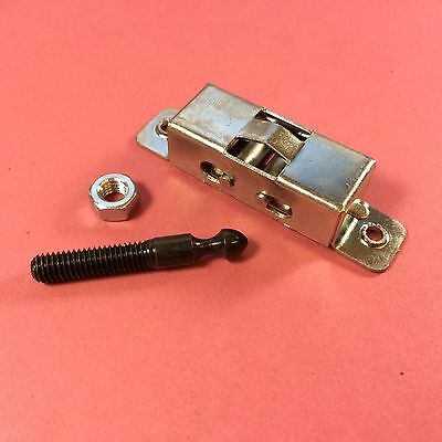 GENUINE RANGEMASTER Oven Door Catch Kit - Roller Lock With Pin A092046
