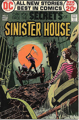 Secrets of Sinister House Comic Book #6, DC Comics 1972 FINE+