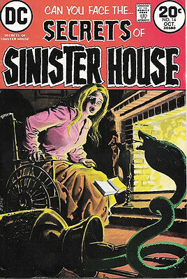 Secrets of Sinister House Comic Book #14, DC Comics 1973 FINE+