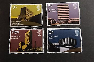 GB MNH STAMP SET 1971 Architecture Universities SG 890-893 UMM