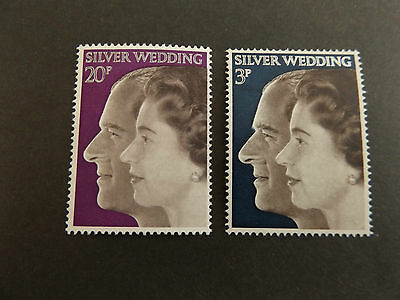 GB MNH STAMP SET 1972 Royal Silver Wedding SG 916-917 10% OFF FOR ANY 5+