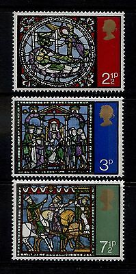 GB MNH STAMP SET 1971 Christmas Windows SG 894-896 10% OFF FOR ANY 5+
