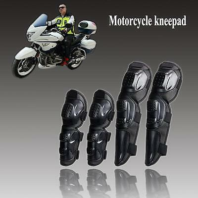 Unique 4 Adult Elbow Kneepads Shin Leg Armor Guard Motorcycle Bike Safety Tool