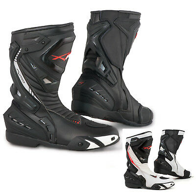 Motorcycle Boots Motorbike Sports Racing Track Road Technical Microfiber