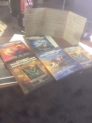 Vintage AD&D books