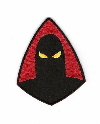 Space Ghost TV Series Silhouette Logo Embroidered Patch, NEW UNUSED