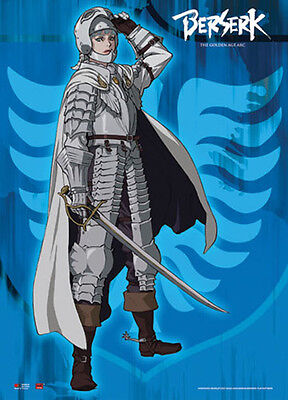 Officially Licensed Berserk Griffith Wall Scroll Anime Fabric Poster (GE-77944)