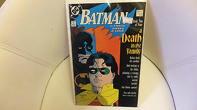 Batman #427 a Death in the Family (DC, 1989) VF