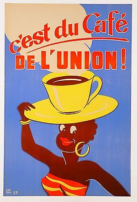 Coffee cafe Vintage Art Deco Print poster Painting For Your Glass Frames