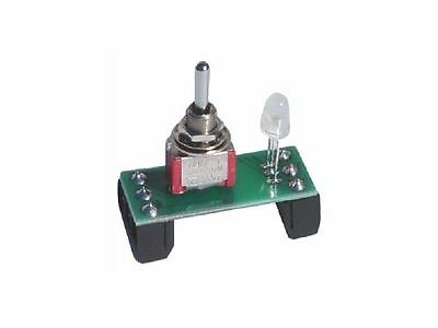 Hornby Peco Points Motor Momentary Toggle Switch & Tricolour Indicator+Terminals