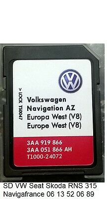 carte europe gps volkswagen