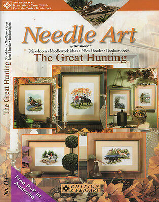 NEW Zweigart No 114 The Great Hunting, Neadle Art by Orchidea