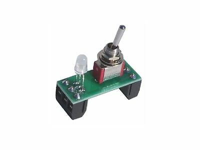 Hornby Peco Toggle Switch On-Off / On-ON with Indicator Assembly & terminals