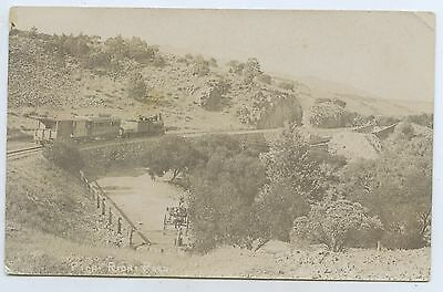 C1909 Rp Pu Postcard Steam Train Pichi Richi Pass Sa U85