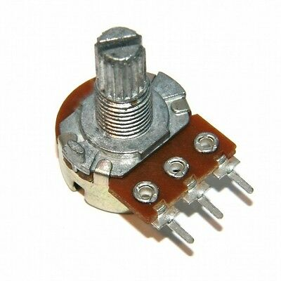 2xRange of Mono stereo Linear Volume Tone Potentiometers With Switch B-Line 15mm