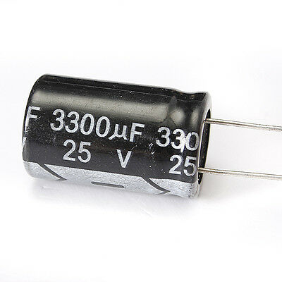 Radial Electrolytic Capacitors Various Value and Voltage 25V