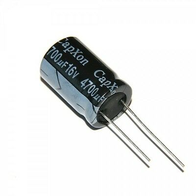 Radial Electrolytic Capacitors Various Value and Voltage 16V