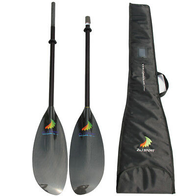 ZJ Lightweight Carbon Sea Kayak Touring Paddle With Oval Shaft In 10CM extend