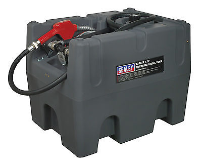 Sealey D22012V Portable Diesel Tank 220ltr 12V