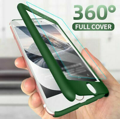 360° Full Protector Tempered Glass Case Cover For iPhone 11 Pro Max Xs XR 8 7 6S