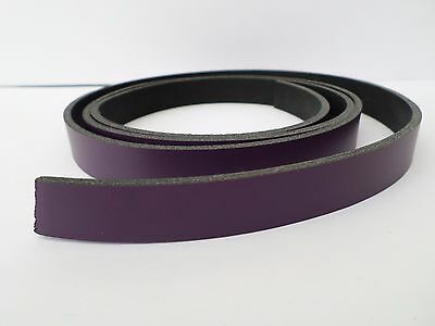 "5/8 "" purple split leather cow hide strap,blank belts,leather strips.2.5mm thick"
