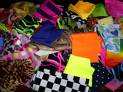Fabric Scrap Value Pack Harumika Doll Card Hobby Craft Sewing Material Remnants