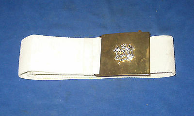 British Army The Queens Royal Lancers Parade Belt
