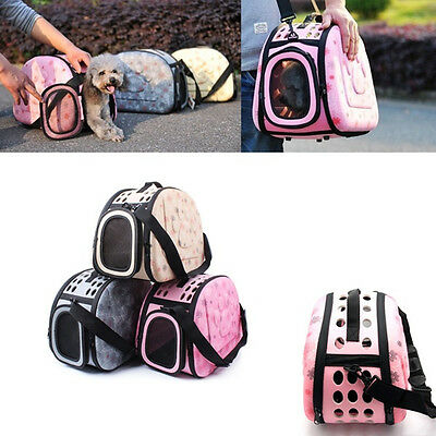 Portable Pet Carrier Soft Cat Dog Outdoor Travel Tote Tent Airline Approved Bag