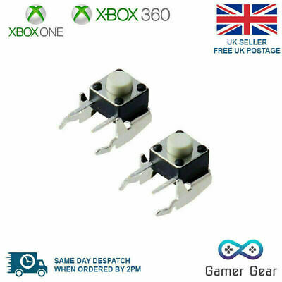 2 x XBOX One Controller LB/RB Shoulder Bumper Button Switch