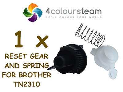 1x RESET GEAR AND SPRING FOR BROTHER  TN2310 TN 2310 DCP-L2500d DCP-L2540DW
