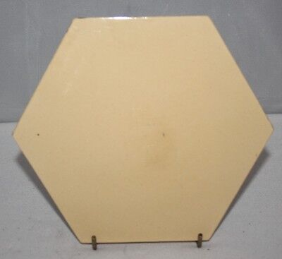 "Minton Hollins - Antique Hexagonal 6 1/2"" Tile - c1868"