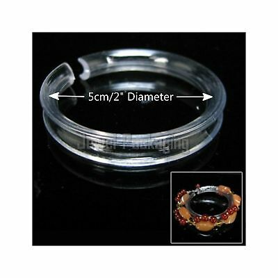 10PCS X Bracelet Retail Jewelry Display Riser Shaper Clear Acrylic Rings