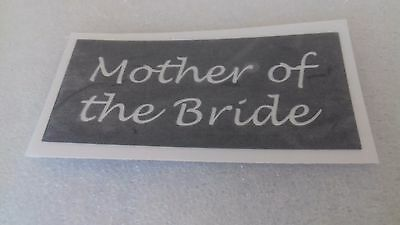 10 - 400 Mother of the Bride stencils for etching on glass hobby craft  wedding