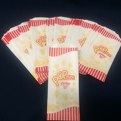 Popcorn Bags 50 pc, 1.5 oz. ** Free Shipping** New